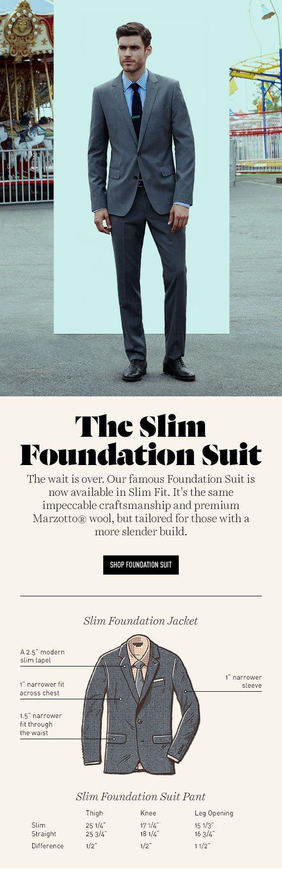 Introducing Slim Suits