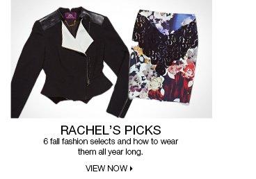 Rachel's Picks