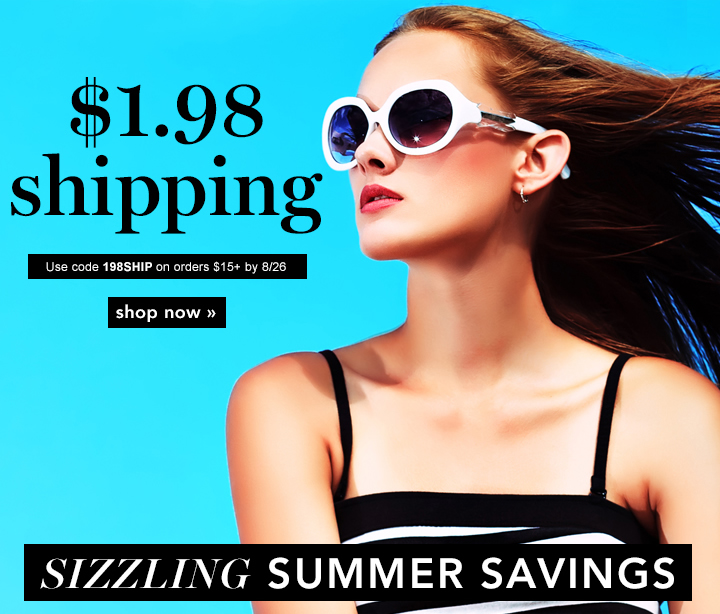Sizzling Summer Savings!