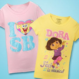 Girly Characters: Kids' Apparel