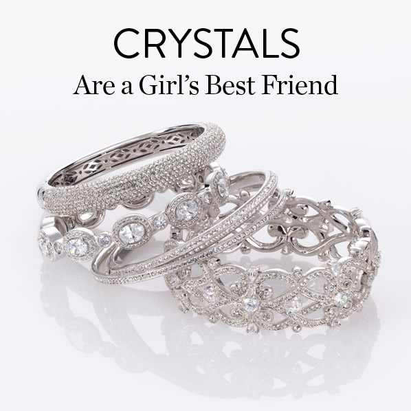 CRYSTALS Are a Girl's Best Friend