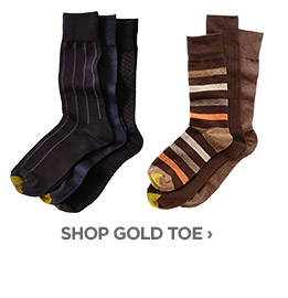 SHOP GOLD TOE ›