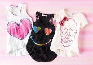 Playsix Girls: Sweet & Sassy Tops
