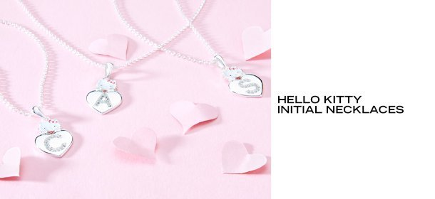 HELLO KITTY INITIAL NECKLACES, Event Ends August 27, 9:00 AM PT >