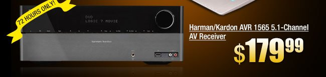 Harman/Kardon AVR 1565 5.1-Channel AV Receiver