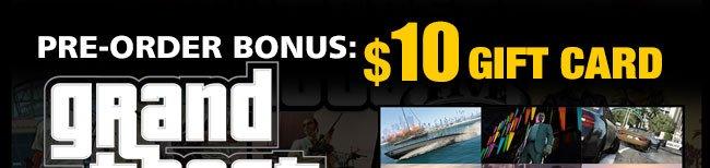 PRE-ORDER BONUS: $10 GIFT CARD!