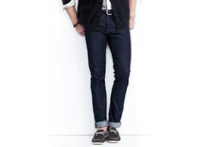 Find Your Fit: Tapered & Slim-Fit Jeans