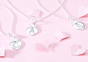Hello Kitty Initial Necklaces