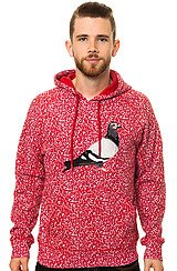 The Composition Hoody in Red