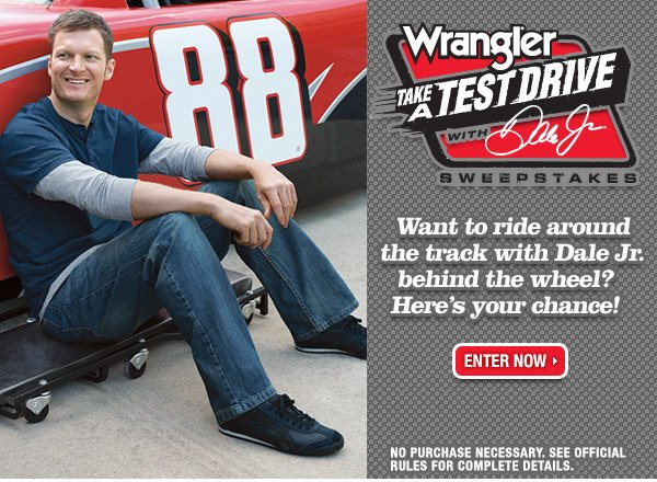Take a Test Drive with Dale Jr.