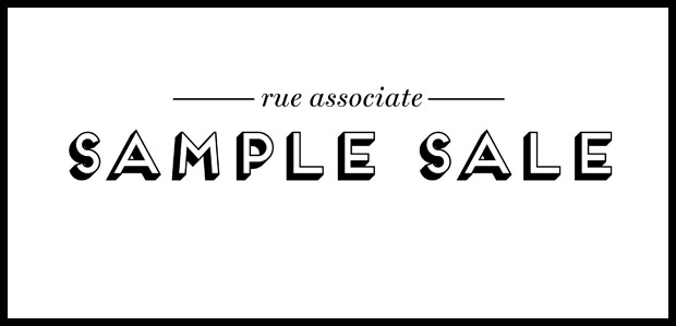 Rue Associate Sample Sale
