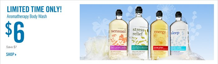 Aromatherapy Body Wash – $6