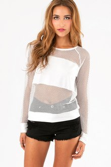 HONEYCOMB CONTRAST TOP 29