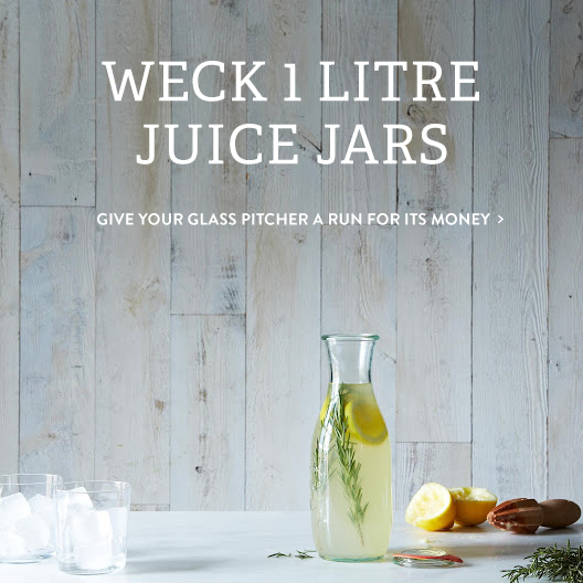 Weck Juice Jars