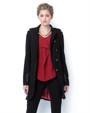 DEPT Button-Up Wool Coat