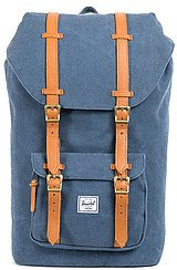 The Little America Backpack in Washed Navy Canvas