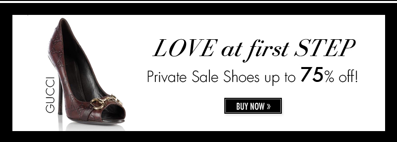 GUCCI. LOVE at first STEP. Private Sale Shoes up to 75% off! BUY NOW.