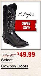 Select Cowboy Boots