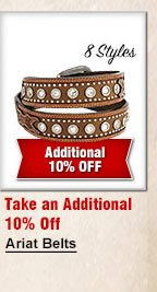 Ariat Belts