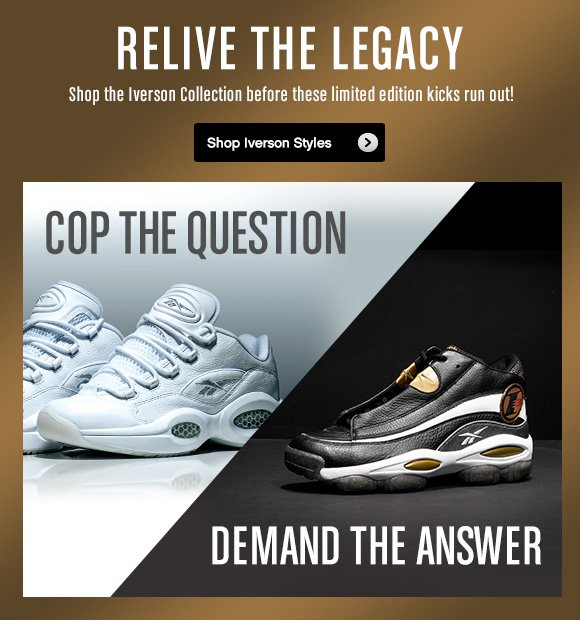 RELIVE THE LEGACY SHOP IVERSON STYLES