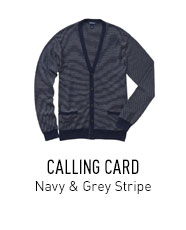 Navy Cardigan