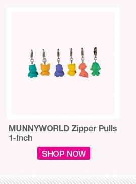 MUNNYWORLD Zipper Pulls 1-inch.  Shop Now