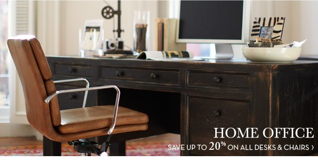HOME OFFICE - SAVE UP TO 15% ON ALL DESKS & CHAIRS