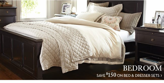 BEDROOM - SAVE $150 ON BED & DRESSER SET