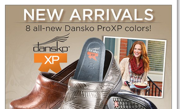 Shop the new fall arrivals from your ultimate Dansko destination! Find new styles, including 8 great ProXP colors and save $25 on your next The Walking Company purchase when you buy Dansko today!* Find the best selection when you shop now at The Walking Company.