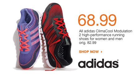 $68.99 All adidas ClimaCool Modulation 2 high-performance running shoes for women and men. orig. 82.99