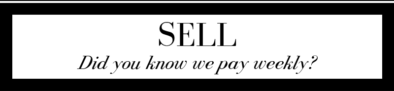 SELL. Did you know we pay weekly?