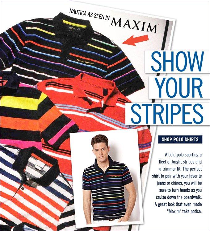 Nautica As Seen In Maxim Magazine