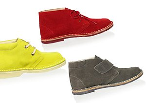 Step into Fall: Kids' Desert Boots