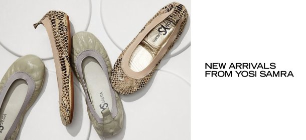 NEW ARRIVALS FROM YOSI SAMRA, Event Ends August 27, 9:00 AM PT >