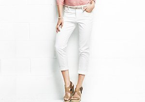 Up to 75% Off: Crops & Capris