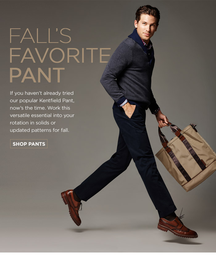 FALL'S FAVORITE PANT | SHOP PANTS