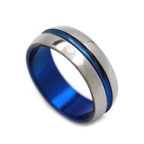 Blue Signature Ring