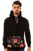 The Dark Garden Hoody in Black