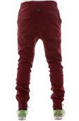 The Sureshot Chino in Burgundy