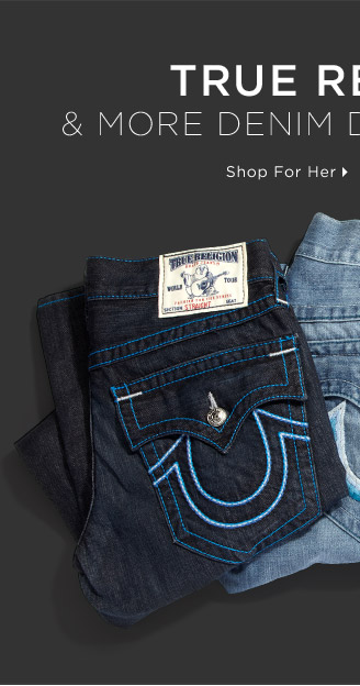 True Religion & More Denim Designer Faves