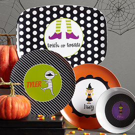 Lima Bean Kids: Halloween Plates