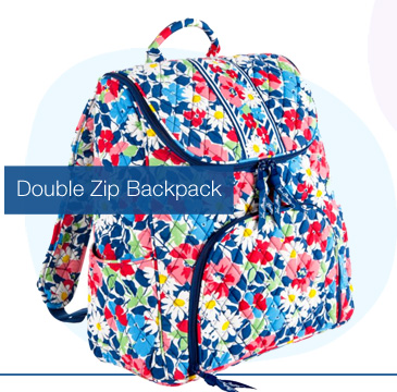 Double Zip Backpack $49.99