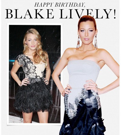 Happy Birthday, Blake Lively! See Her Style Transformation