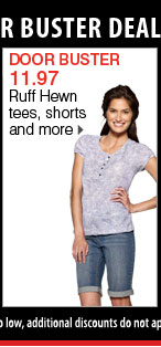 14.97 Ruff Hewn and Calvin Klein Performance styles