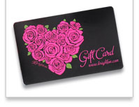 Gift cards- the gift she'll love