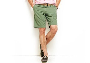 Summer Staple: Flat-Front Shorts
