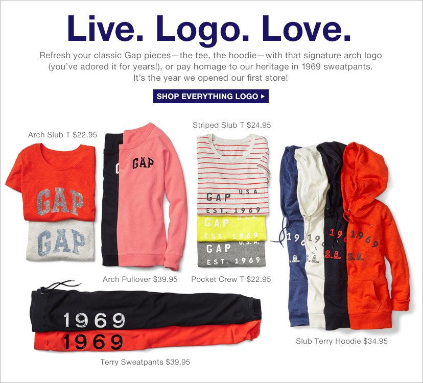 Live. Logo. Love. | SHOP EVERYTHING LOGO