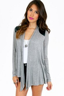 ON MY SHOULDERS CONTRAST CARDIGAN 28