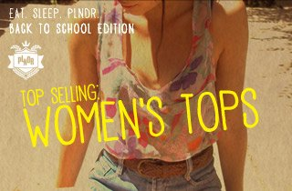 Top Selling: Women's Tops