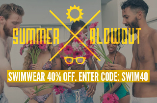 Swimwear: 40% Off